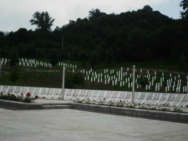 Srebrenica-Potocari Memorial Site, Bosnia